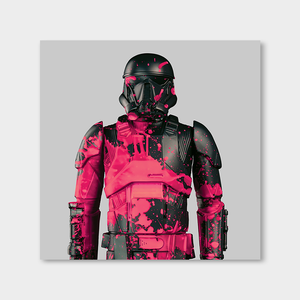The Trooper Greypink Upper