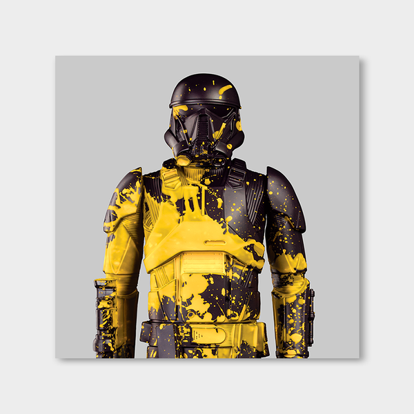 The Trooper Greyyellow Upper