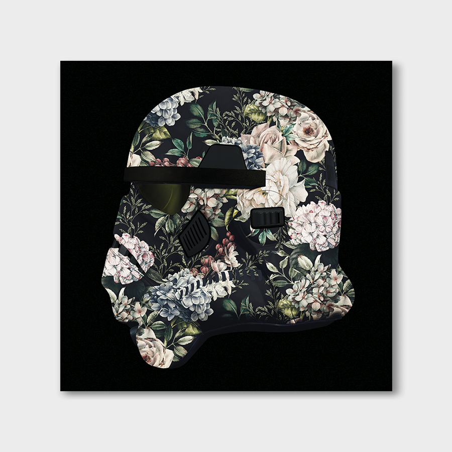 Trooper Mask Floral V1