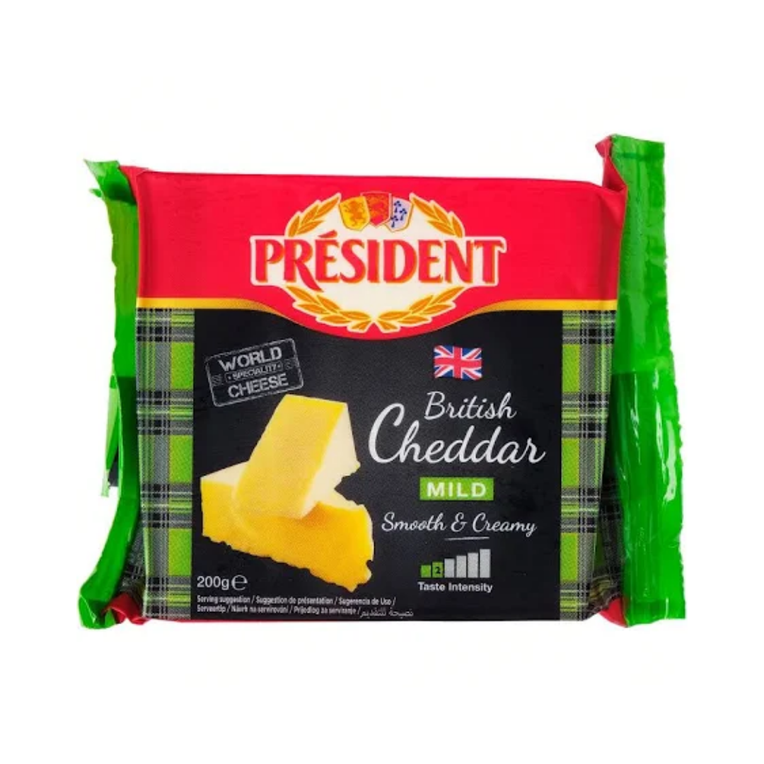 President British Cheddar Mild Cheese