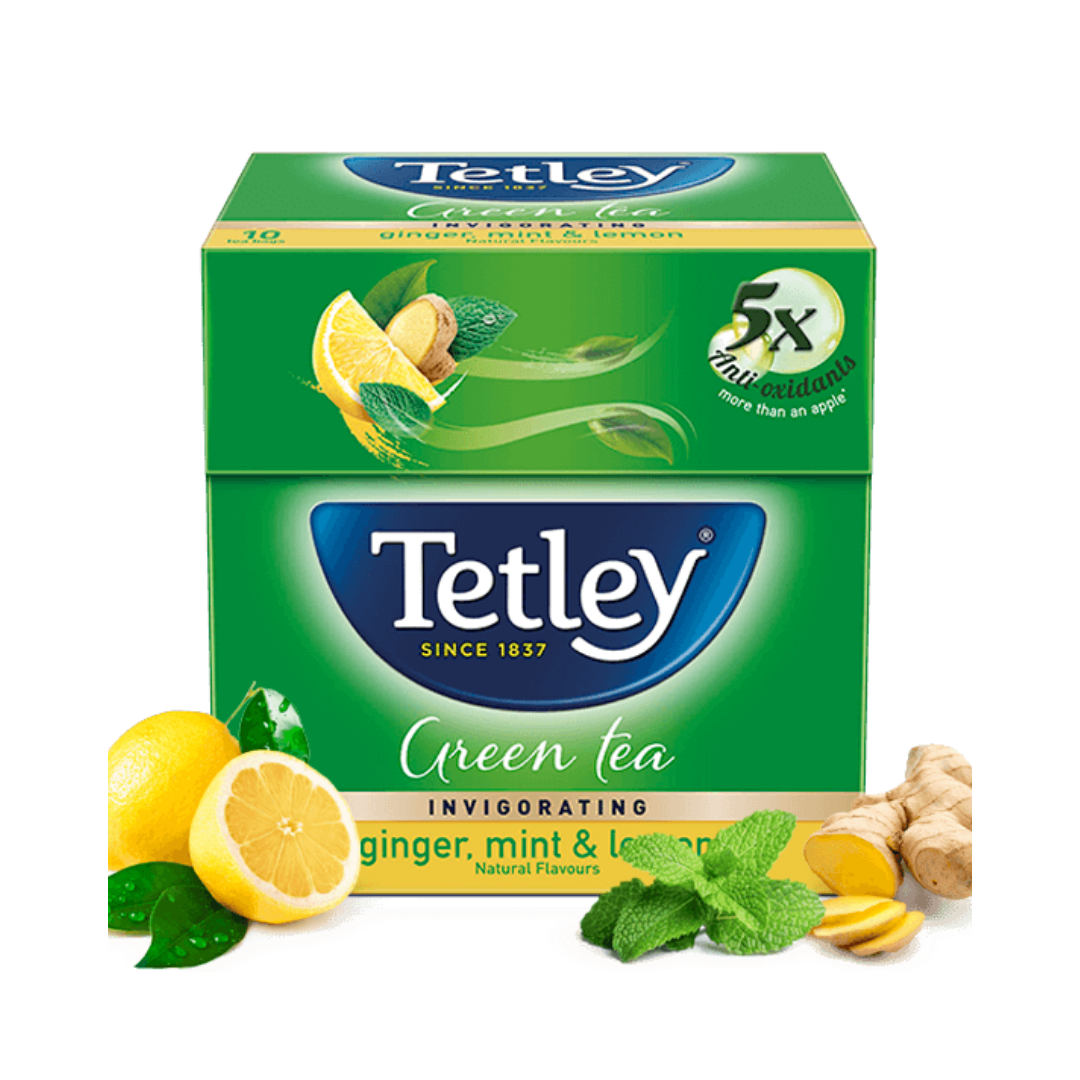 Tetley India Ginger Mint & Lemon Tea