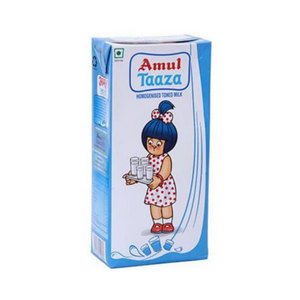 Amul Taaza UHT Full Cream Milk - Single