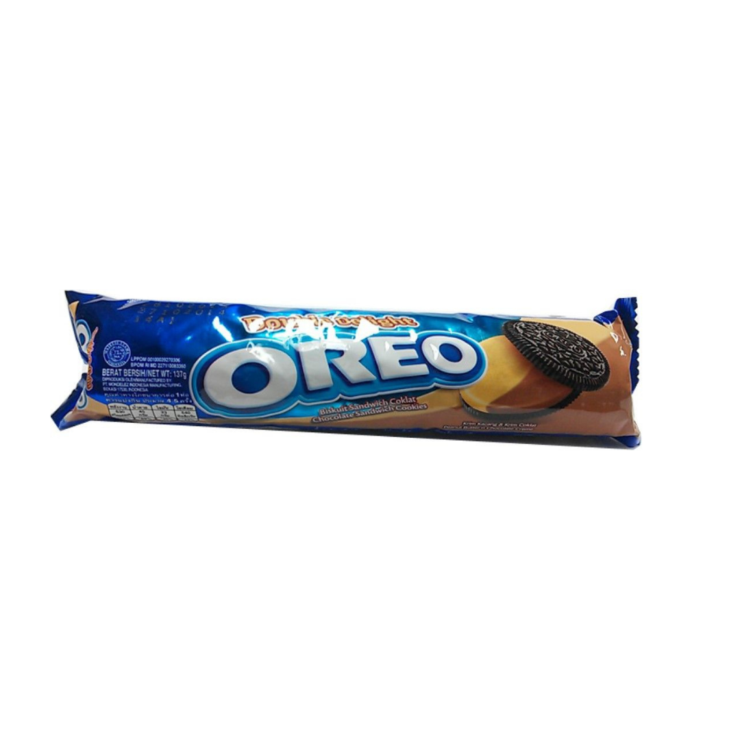 OREO Peanut Butter & Chocolate Flavour Biscuits