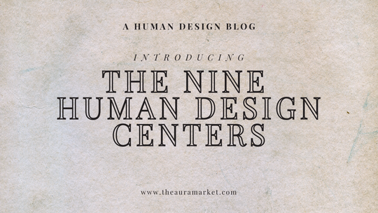 A Summary of the Nine Human Design Centers