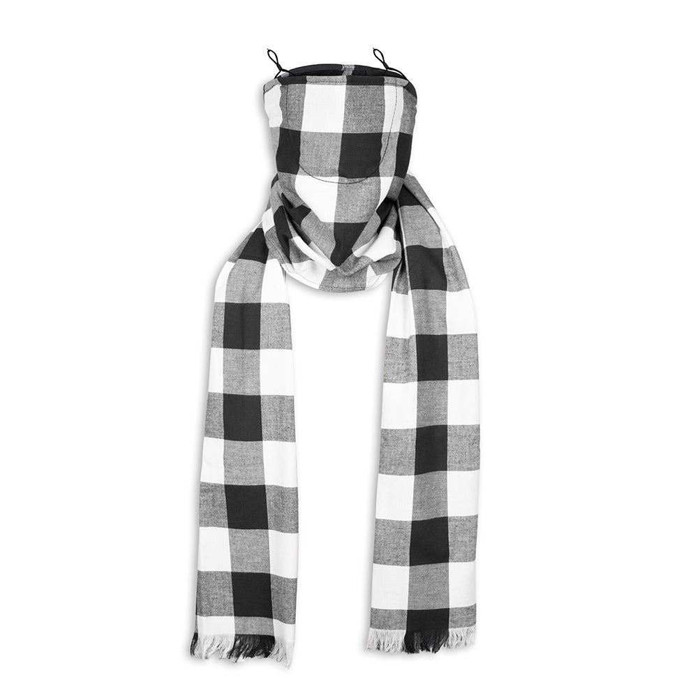 Antiviral Grey Scarf