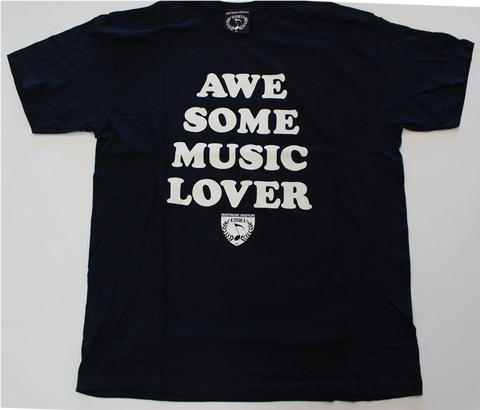 AWESOME MUSIC LOVER - MUSIC T-SHIRT DESIGN - MEN - MUSIC FASHION