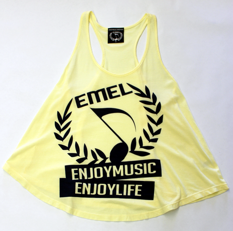 MUSIC TANK TOP SHIRT WOMEN - MUSIC SYMBOL - MUSIC FASHION DESIGN