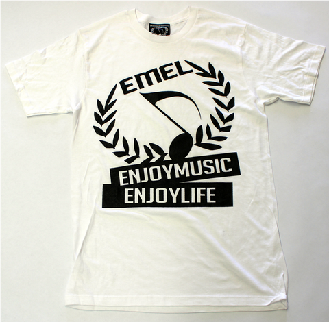 MUSIC CREST SYMBOL T-SHIRT MEN