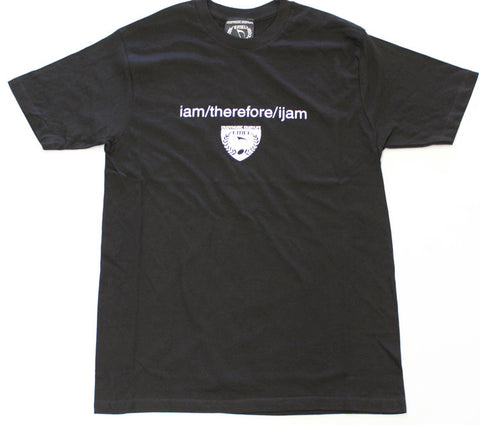 I AM THEREFORE I JAM MUSIC T-SHIRT - MEN - ENJOYMUSIC ENJOYLIFE