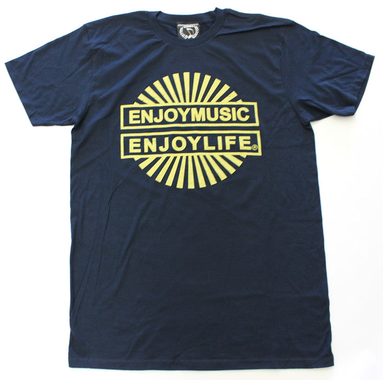 Positive music t-shirt - Let your light sunshine - music fashion tee by ENJOYMUSIC ENJOYLIFE