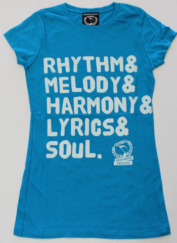 5 ELEMENTS OF MUSIC - MUSIC T-SHIRT - WOMEN - ENJOYMUSIC ENJOYLIFE FASHION BRAND