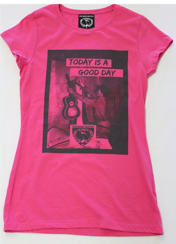 TODAY IS A GOOD DAY - MUSIC T-SHIRT - WOMEN - ENJOYMUSIC ENJOYLIFE FASHION BRAND