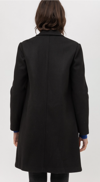 Fleece Long Line Coat