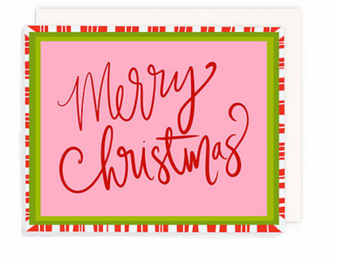 """Merry Christmas"" Greeting Card Singles"