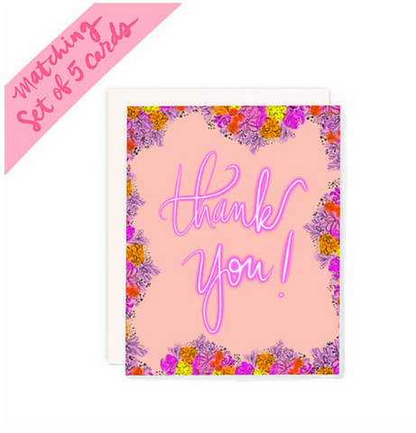 """Thank you!"" Pack of 5"