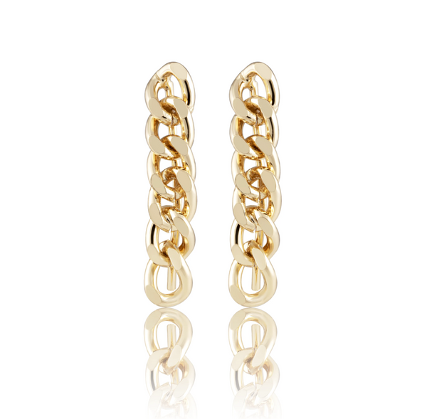Leila Cuban Link Earrings