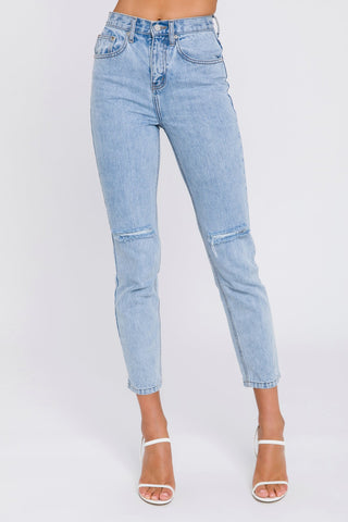Back Pocket Detail Jeans
