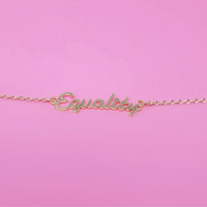 Equality Necklace