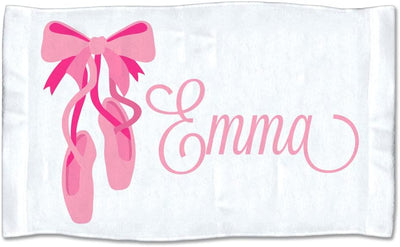 Personalized Ballerina Towel