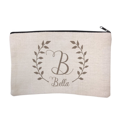Personalized Script Name with Laurel Cosmetic Bag
