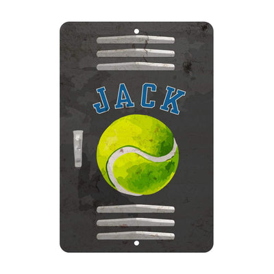 Personalized Tennis Locker Room Sign