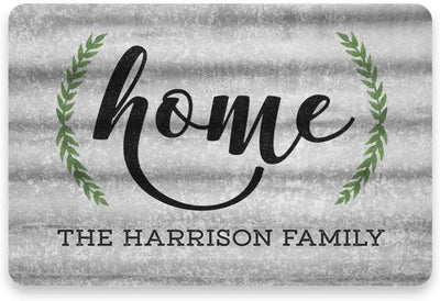 Personalized Metal Home Sign - Metal 8 X 12 Sign
