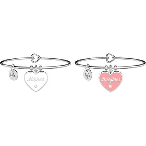 BRACCIALE DONNA FAMILY - MOTHER - DAUGHTER AMORE INFINITO - KIDULT