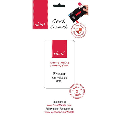 RFID Card by Skint ( 2 Cards)