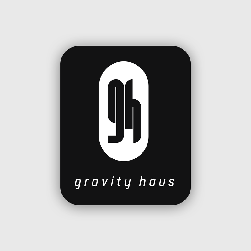 Official Gravity Haus Sticker