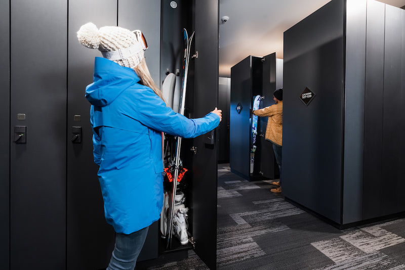 Breck Locker Rental