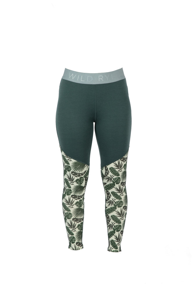 Jane Leggings - Mauna Kea - Green