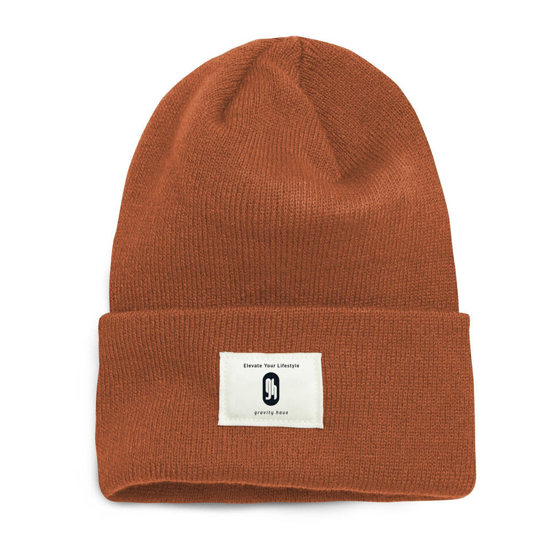 Gravity Haus Classic Beanie (Burnt Orange)