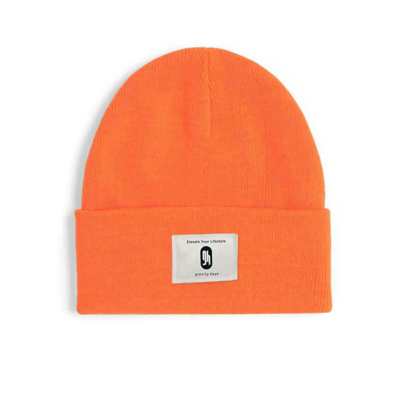 Gravity Haus Classic Beanie (Hunter Orange)