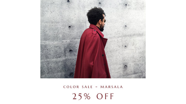 COLOR SALE - MARSALA