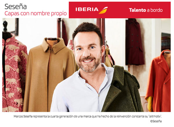 MARCOS SESEÑA HAS BEEN INTERVIEWED FOR IBERIA