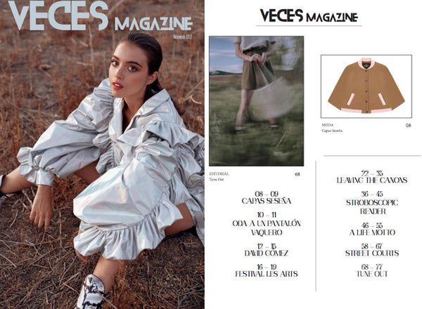 VECES MAGAZINE HAS FALLEN IN LOVE WITH CAPES SESEÑA