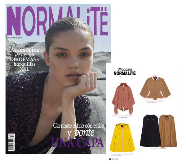 NORMATILË MAGAZINE BETS ON THE CAPE TO COMBAT THE COLD