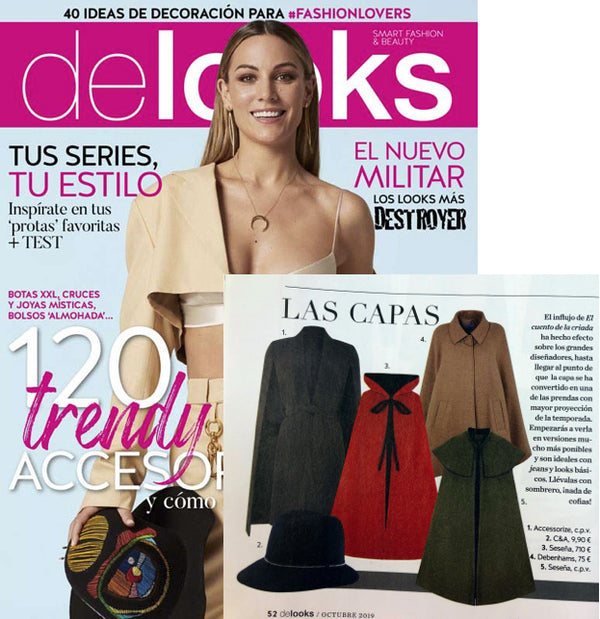 DELOOKS, THE FASHION AND TRENDS MAGAZINE THAT CHOOSES SESEÑA AS INSPIRATION