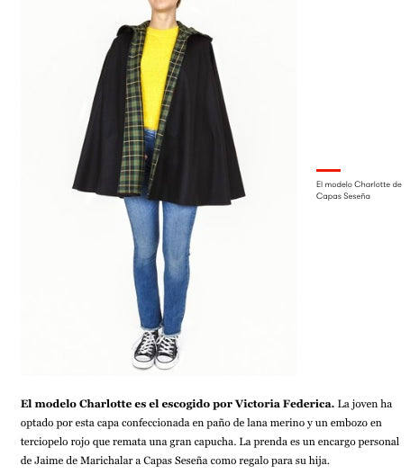 VOGUE AND VICTORIA FEDERICA LOVE THE TIMELESS GARMENTS