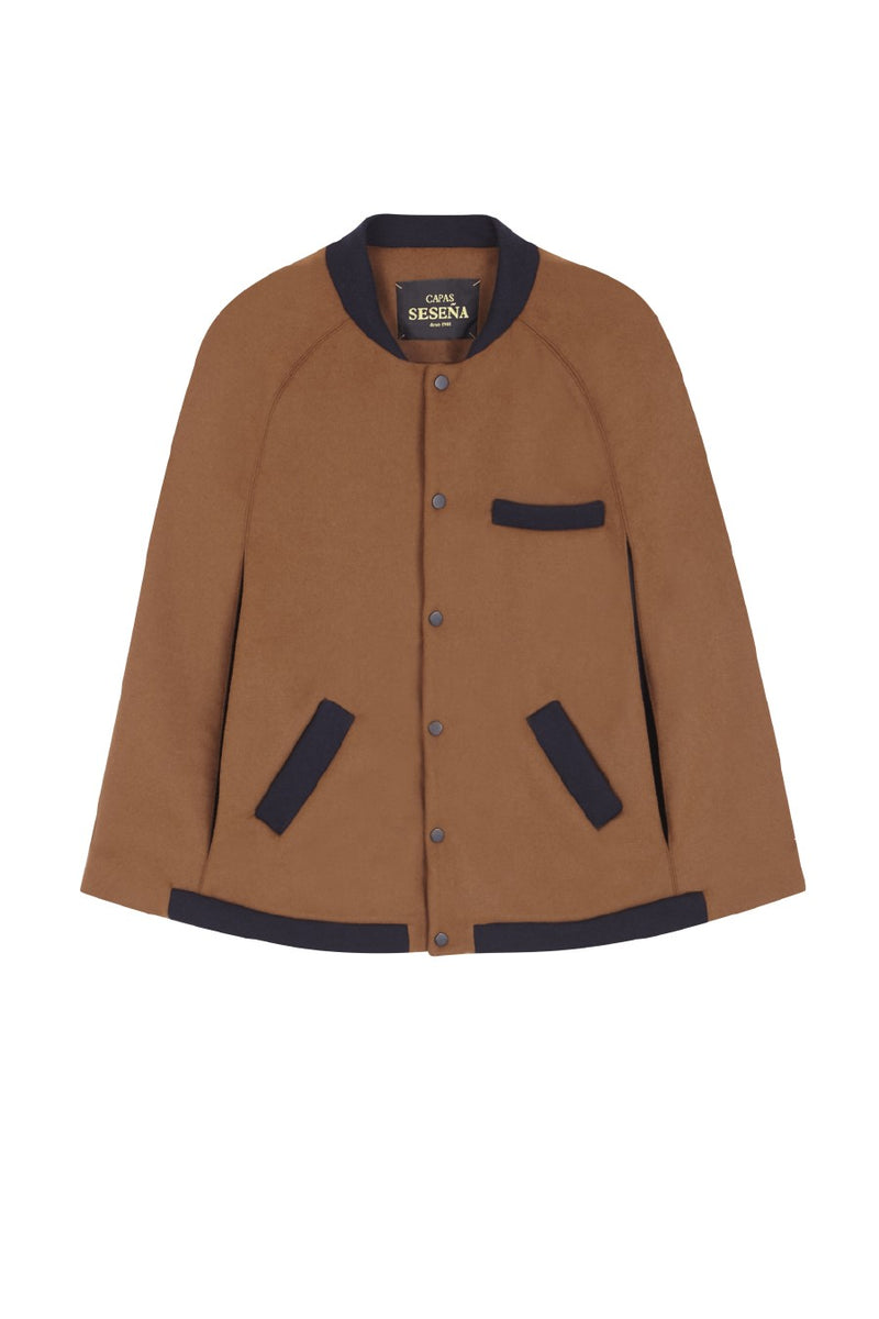 CLUB CAPE brown - navy