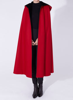 NICOLE CAPE red