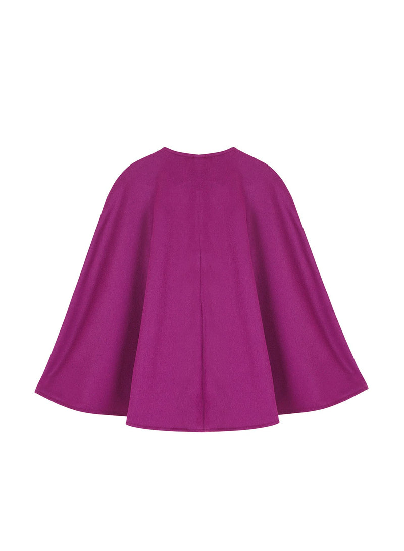 CLAUDIA CAPE PURPLE
