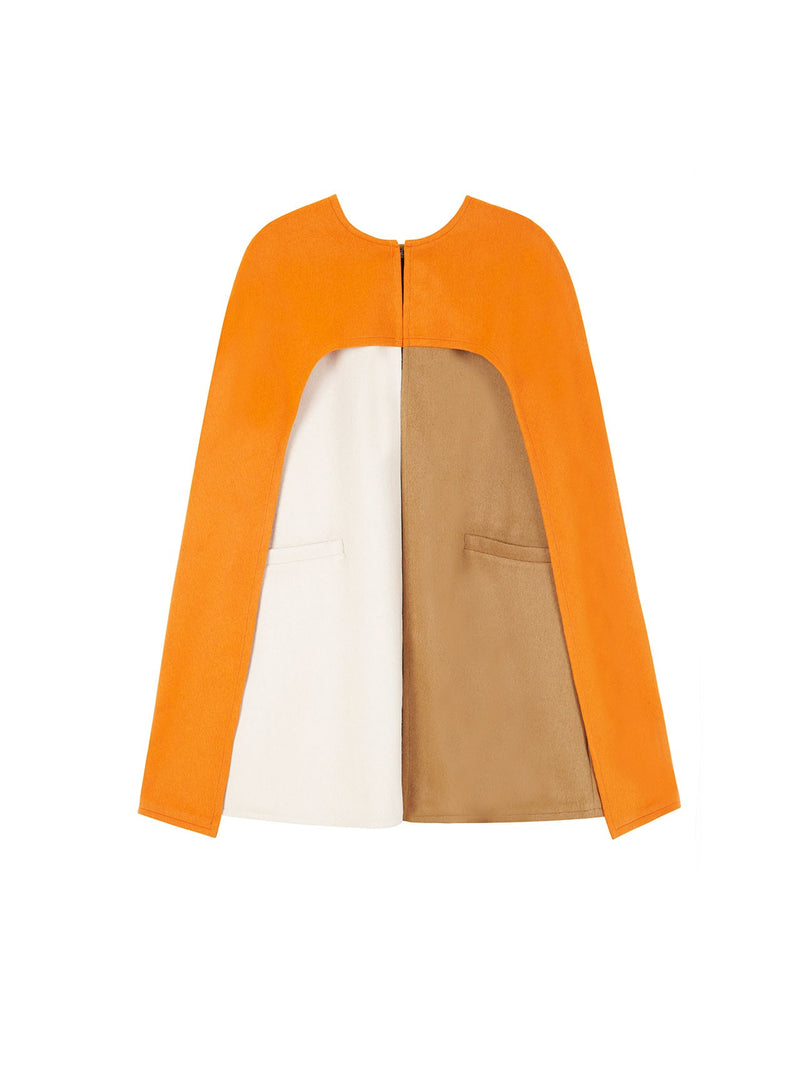JEAN CAPE ORANGE, CAMEL AND OFF-WHITE