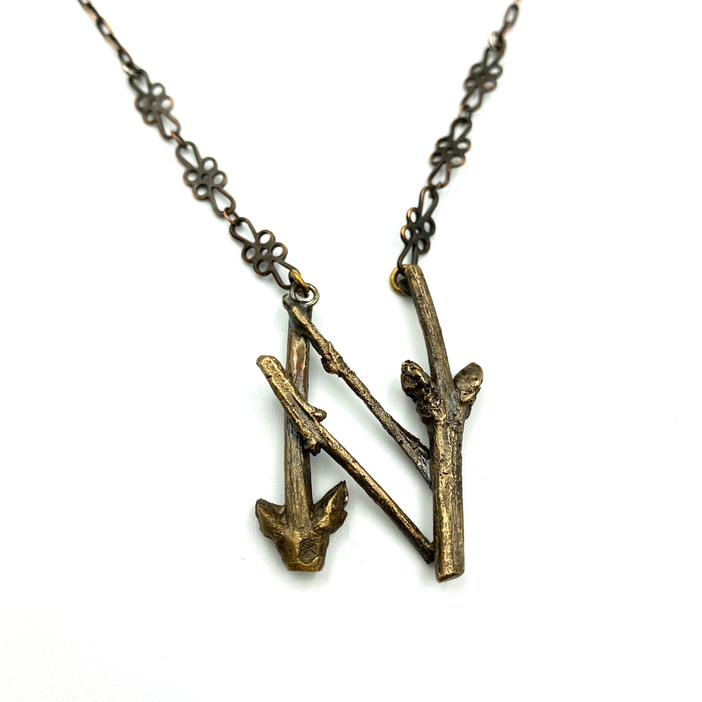 Hagalaz Rune Necklace