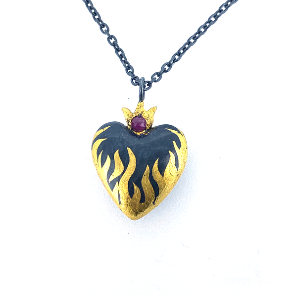Heart of R'hllor Pendant