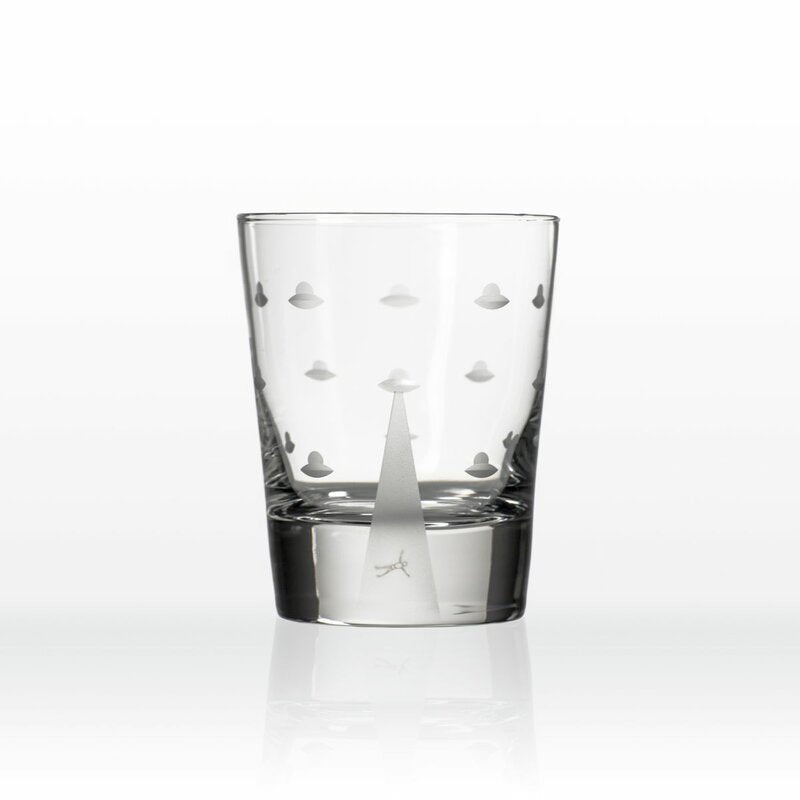 Mothership Double Old Fashion Glasses - Set of 2