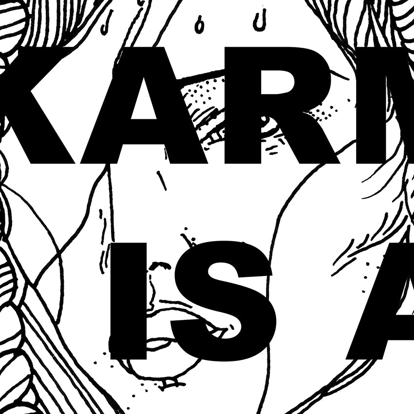 Shirt - 'Karma is a queen'