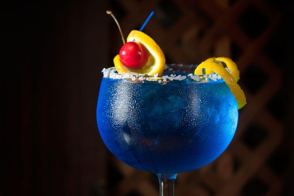Top Shelf Blue Curacao: Cocktail Series