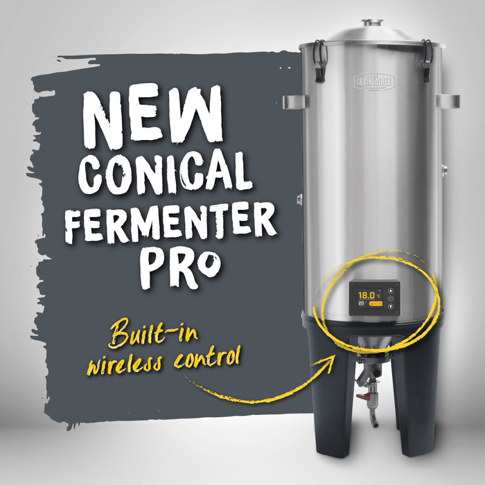 NEW: Grainfather Conical Fermenter PRO with Wireless Controller & Insulation Jacket
