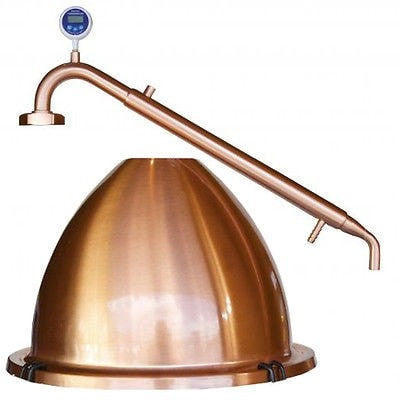 Still Spirits Alembic Pot Still Dome Top and Condenser